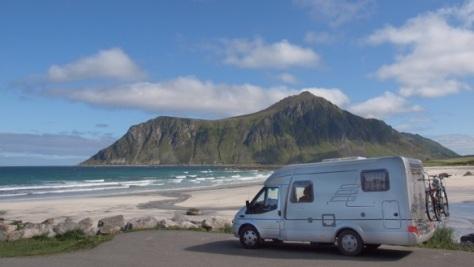Auf den Lofoten in Norwegen