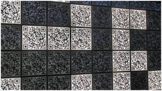 Eine interaktive Installation mit QR Codes