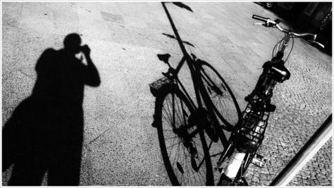 Mein Fahrrad und ich auf dem Weg - Foto: h|b