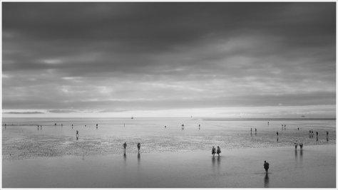 Das Meer macht Pause - Foto: h b