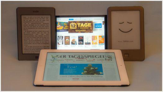 Bücher und Zeitschriften ohne Papier - Foto: h|b