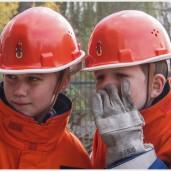 Zwei Jugendfeuerwehrleute