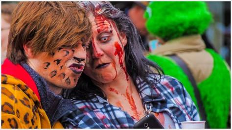 Zombie-Selfie - h b
