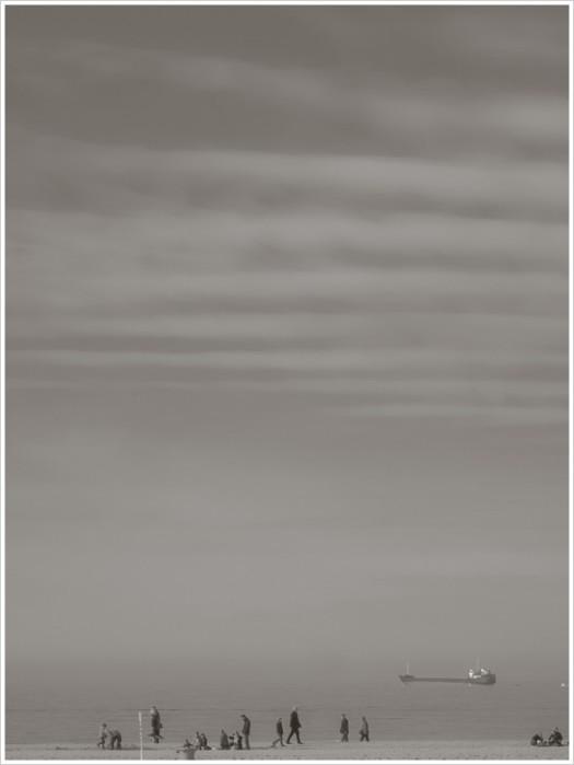 Ungewohntes Strandbild - Foto: h|b