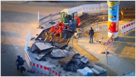 Eckenverschönerungsmaßnahmen in Friedrichshain - Foto: h b