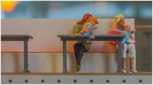 Familienausflugssimulation - Gesehen im IKEA Lichtenberg - Foto: h|b