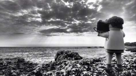 Die Atlantikküste auf der Insel Noirmoutier