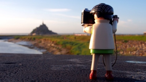 Der Mont St-Michel in der Normandie