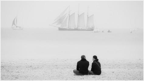 Der Herbst lässt die Ostseestrände wieder leerer werden - Foto: h b