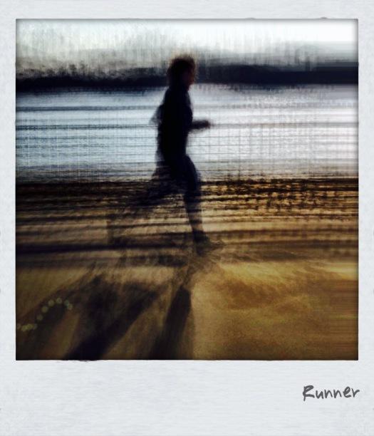 Joggerin am Spreeufer - Foto: h|b