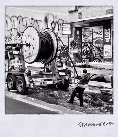 Bauarbeiten in Friedrichshain