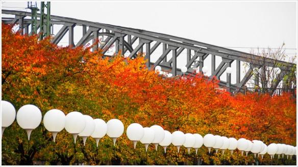 Lichtgrenze - Bornholmer Brücke - Foto: h|b