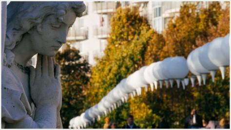 Lichtgrenze - Invalidenfriedhof - Foto: h|b