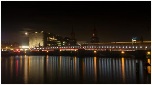 Lichtgrenze - Oberbaumbrücke - Foto: h|b