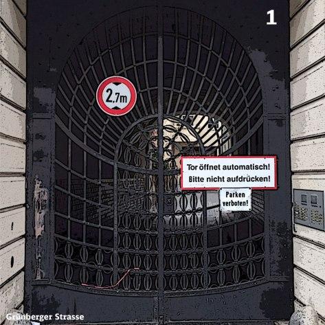 Heute Türchen Nummer 1 - Das Tor zum Hof - Foto: h b