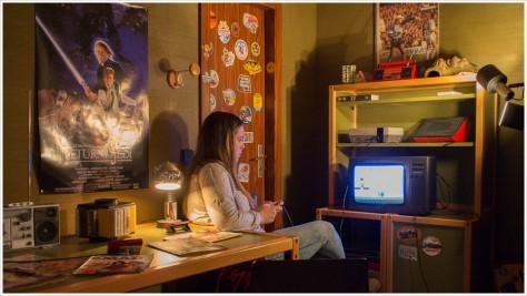 Das Jugendzimmer der Konsolen ist den 80ern entlehnt - Foto: h|bs