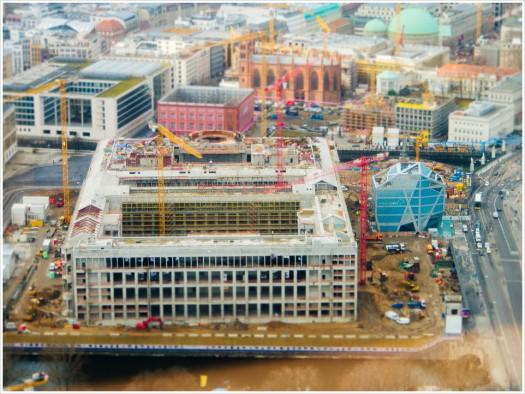 Das neue/alte Schloss an der Spree - Foto: h|b