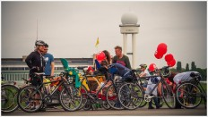 Fahrradstau - Foto: h b
