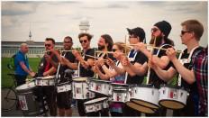 Berliner Drummer für die gute Laune - Foto: h b