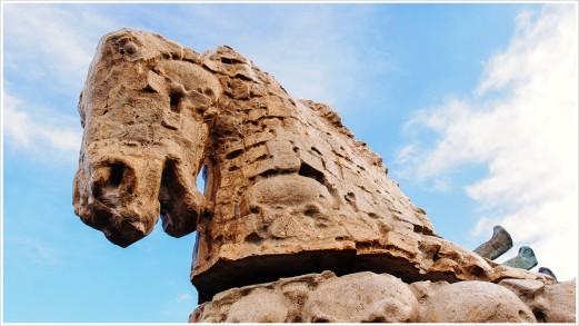 Granitpferd - Foto: h|b [Olympus OM-D E-M5, 12-40/2.8 Pro, 13mm / f.5,6 / ISO 200]