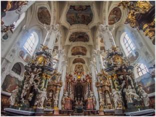 Innenansicht Kloster Neuzelle