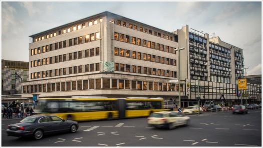 Gebäudeensemble am Bahnhof Zoo in Berlin (abgerissen)