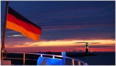 Sonnenuntergang auf der MS Baltica - Foto: h|b