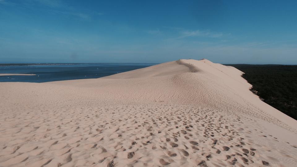 Nichts als Sand - Foto: h|b