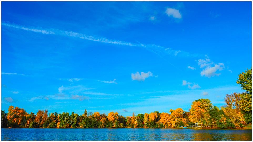 Herbststimmung am Weißensee - Foto: h|b