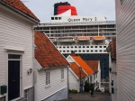 Die QM2 in Stavanger - Foto. h|b
