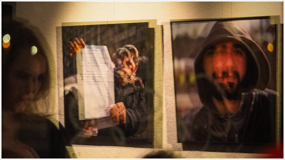 Ausstellung in der Fotogalerie Friedrichshain: Woher - Wohin - Foto: h|b