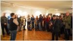 Zahlreiche Besucher in der Ausstellung - Foto: h|b