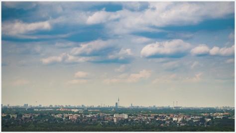 Blick vom Müggelturm auf Berlin