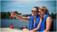 Selfie auf dem Sonnendeck - Foto: h b