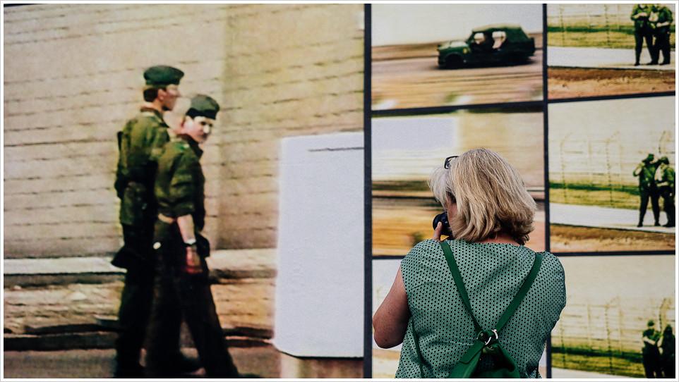 Fotografin unter Beobachtung