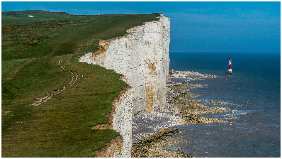 Beachy Head mit Leutturm