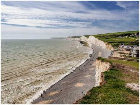 Seven Sisters in Sussex, England