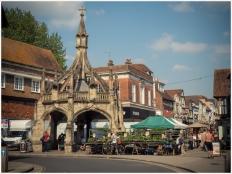 Marktplatz in Salisbury