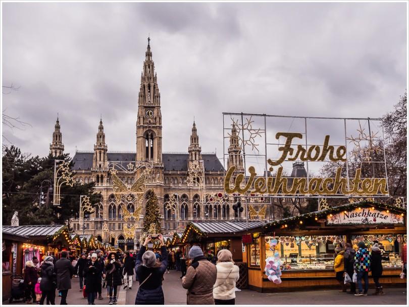 Weihnachtsmarkt am Rathaus Wien