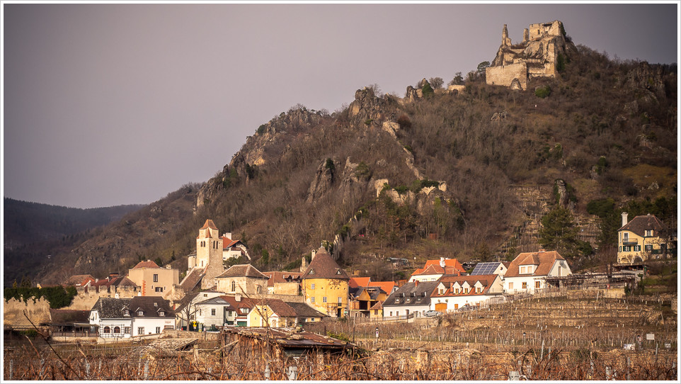 Dürnstein mit seiner Burgruine