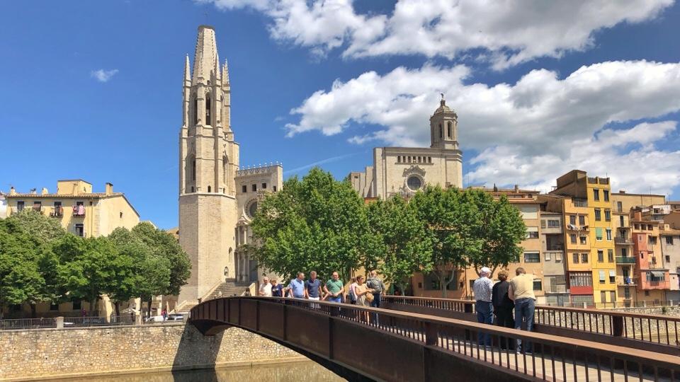 Stadtansicht von Girona