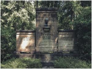 Grabstelle des Regisseurs Murnau