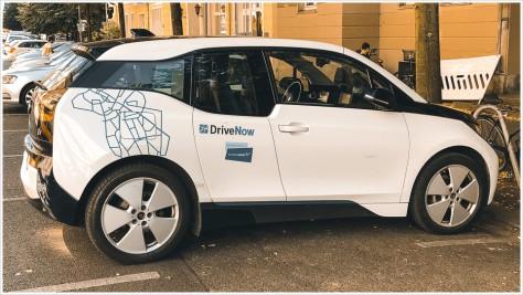 DriveNow E-BMW