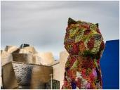 Puppy, Blumen-Skulptur von Jeff Koons