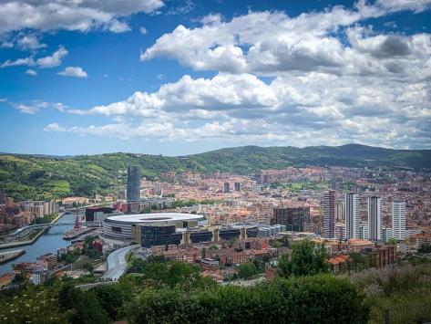 Bilbao aus der Vogelperspektive