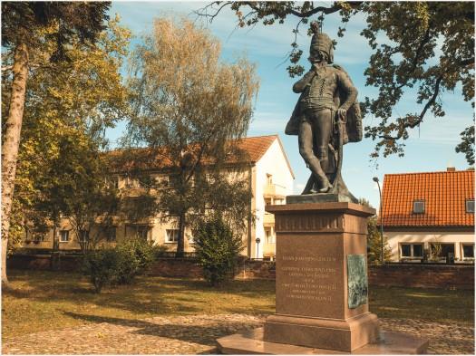 Das Denkmal des Hans Joachim von Zieten