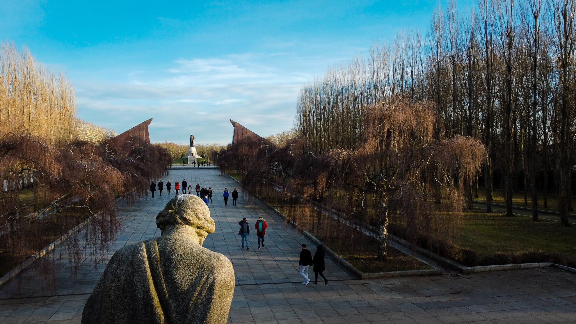 Sowjetisches Ehrenmal in Berlin-Treptow