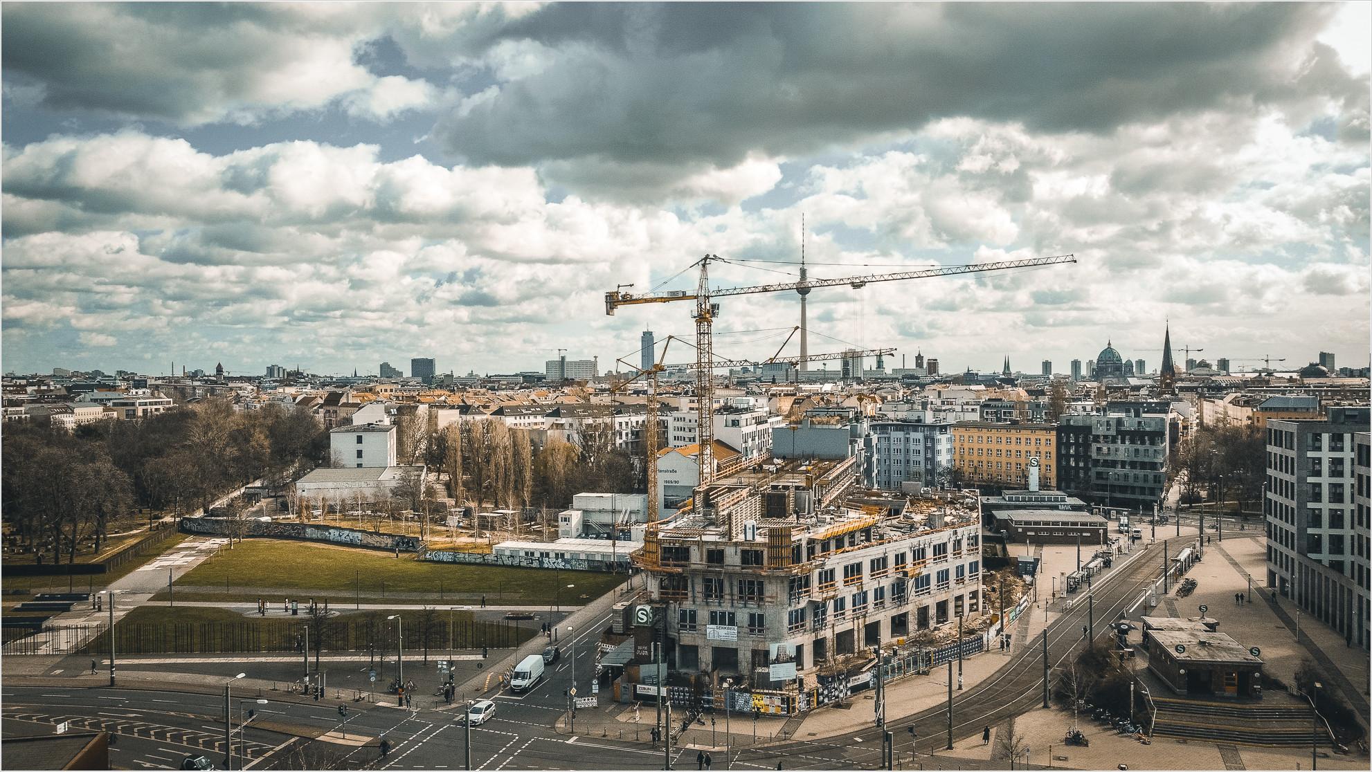 Berlin Nordbahnhof von oben