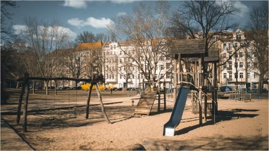 Leerer Spielplatz