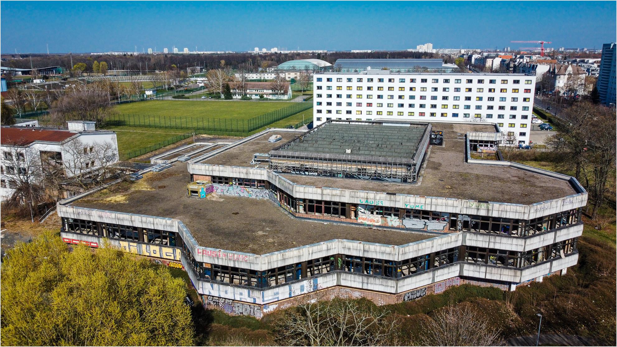 Ehemaliges DDR Sporthotel